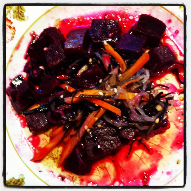 Beet and Seaweed Salad-7
