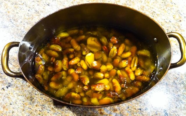 confit beans