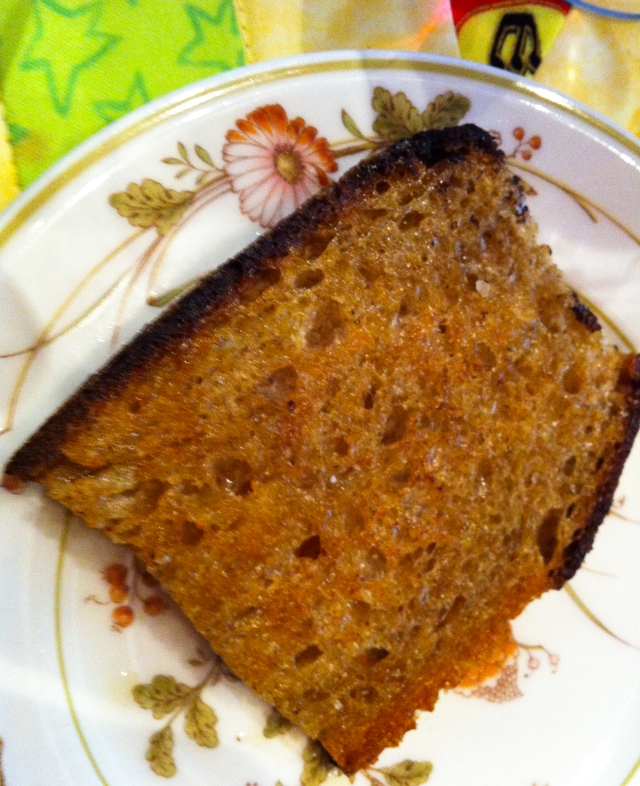 pan-fried bread