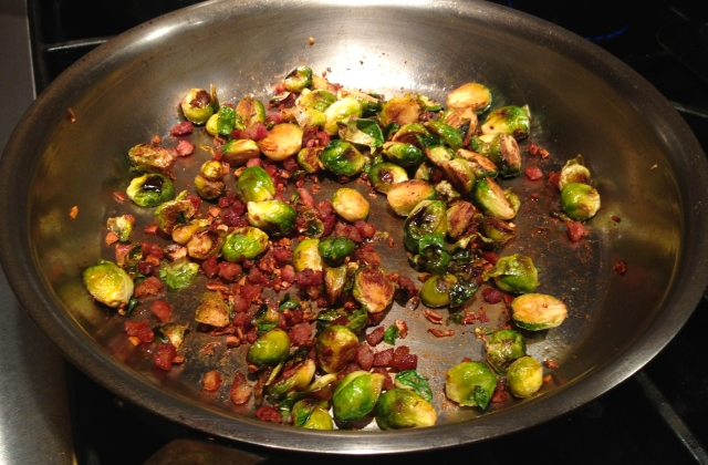 brussels sprouts and pancetta
