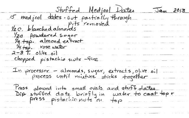 Barbara's Special Stuffed Medjool Dates