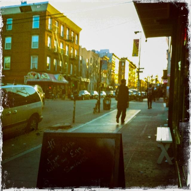 late aft Williamsbug street