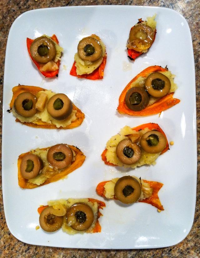 stuffed little peppers