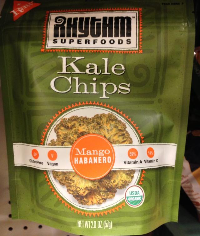 Mango Habanero Kale chips