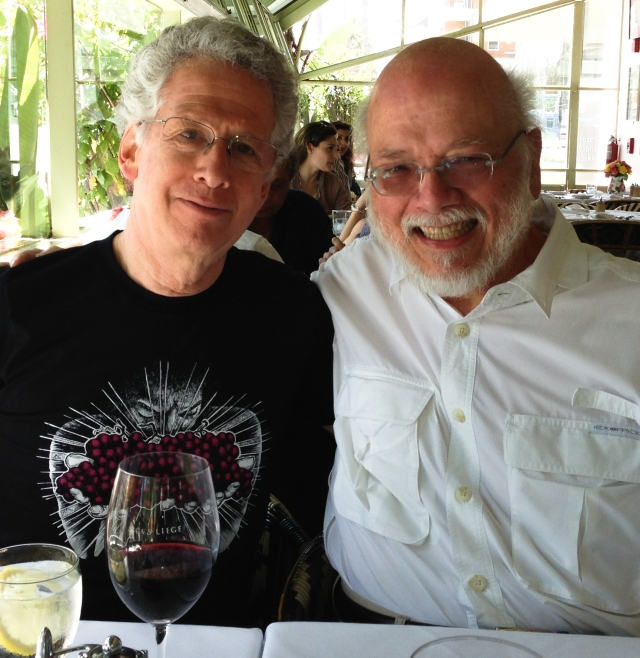 Don Deckebach and me at lunch