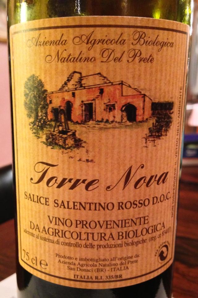 Torre Nova front label