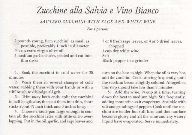 8.5-Zucchine alla Salvia e Vino Bianco
