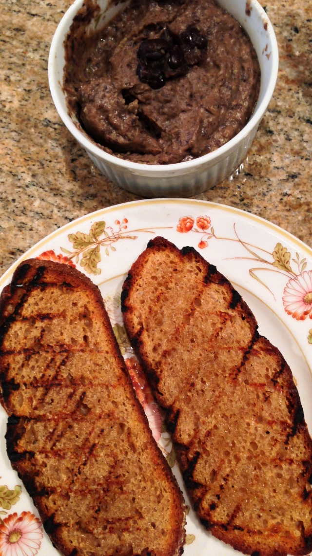 grilled bread and bean paste-41