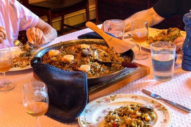 Paella on table-2