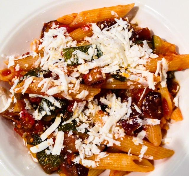 pasta, sauce and Mizithra-35