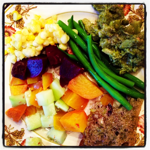 my veggie plate