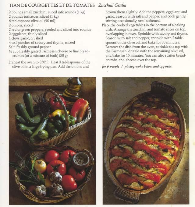 Tian de Courgettes recipe