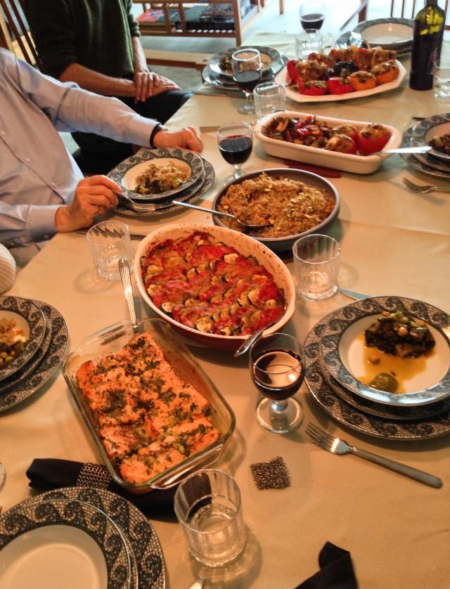 Winston dinner table