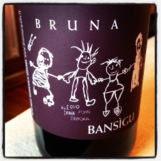 Bruna Bansigu label