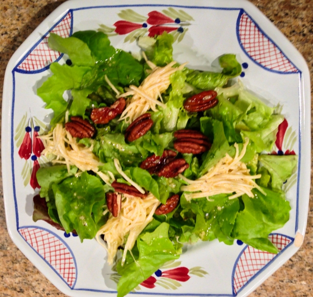 salad with celery root remoulade