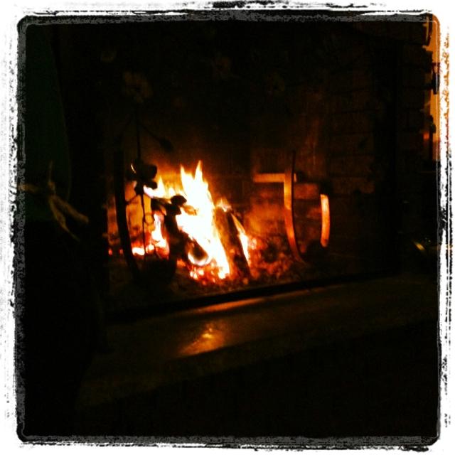 Bondir fireplace