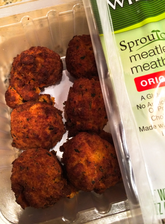 sprouted soybean meatballs