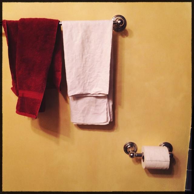 Sochi pak bathroom wall