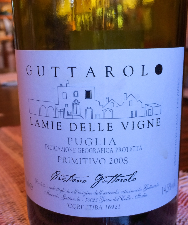 Guttarilo 2008 Primitivo