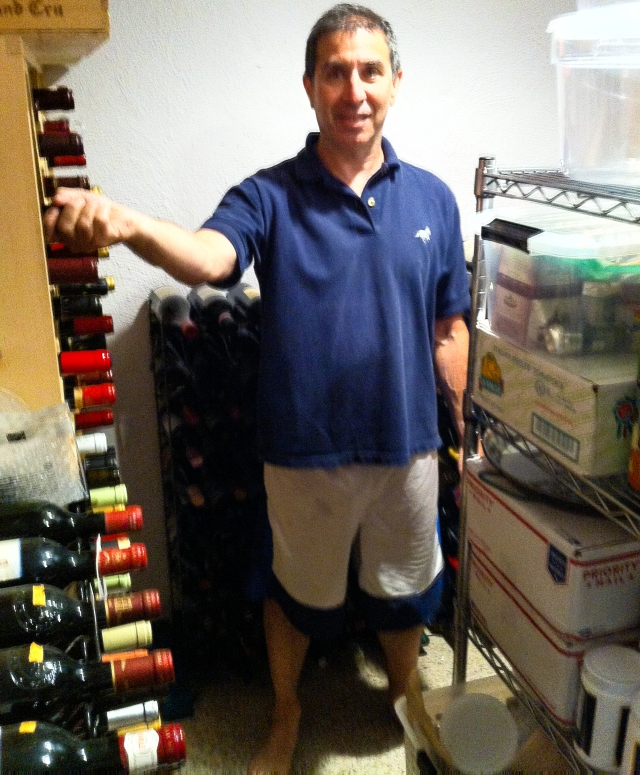 David in the cellar