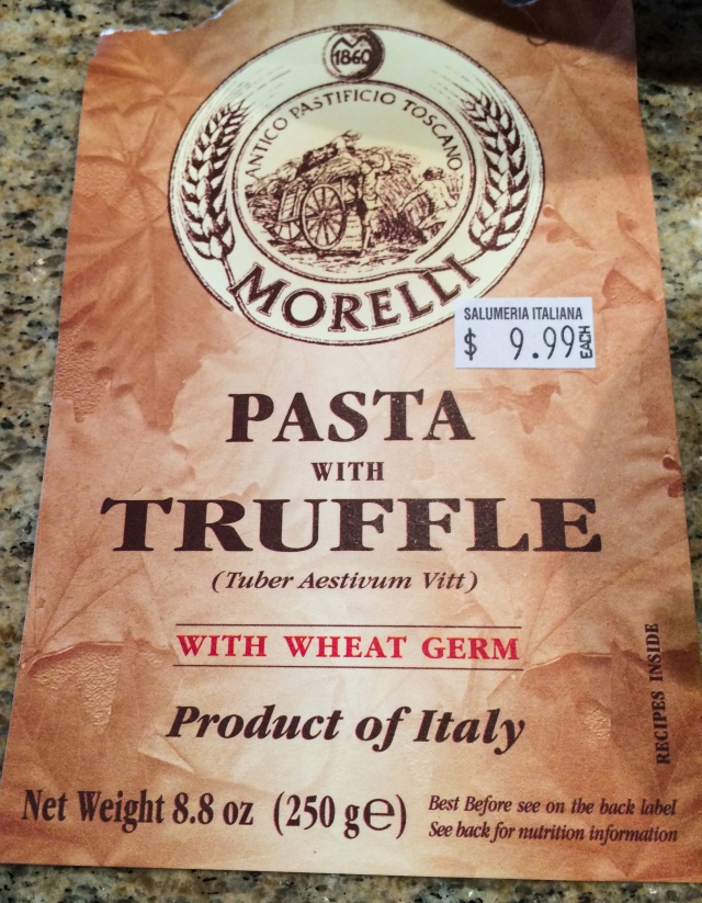 pasta with truffle pkg
