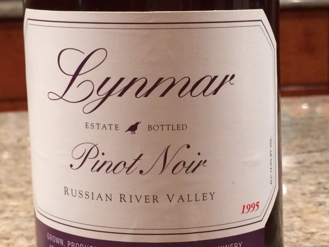 1995 Lynmar Pinot Noir