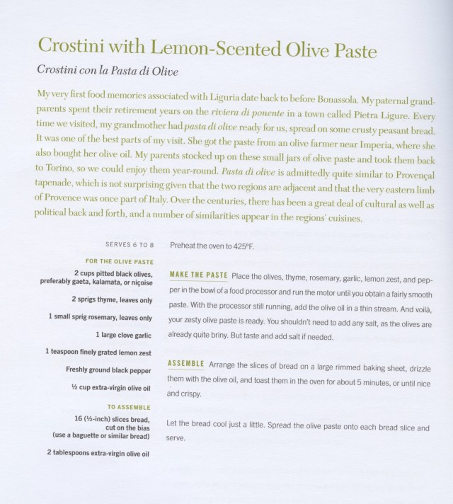 Lemon-Scented Ligurian Olive Paste