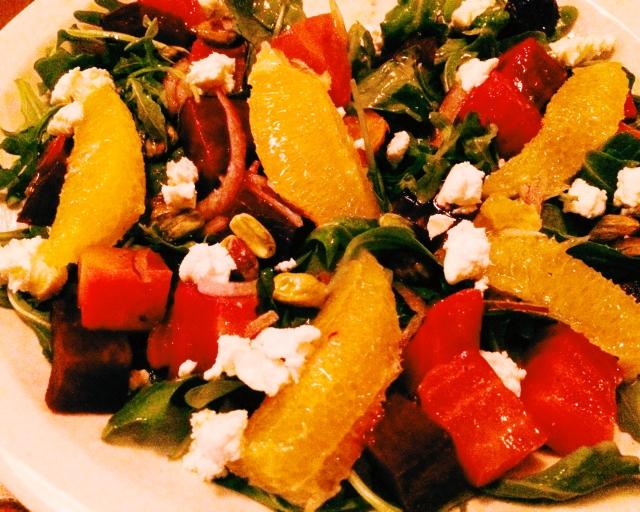 salad at AlMar