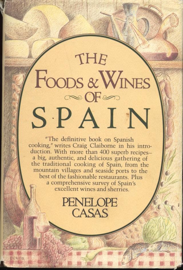 cookbook Foods & Wines of Spain