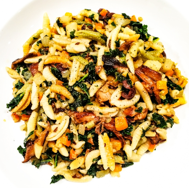 Gnocchetti with Vegetables My Way