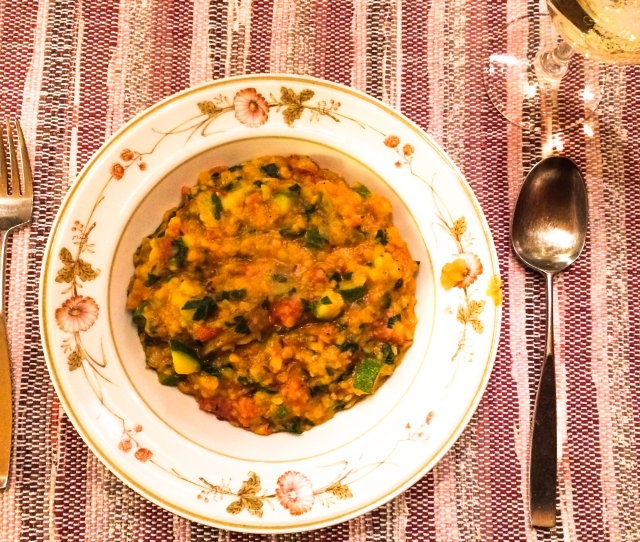 Methi Dal in bowl