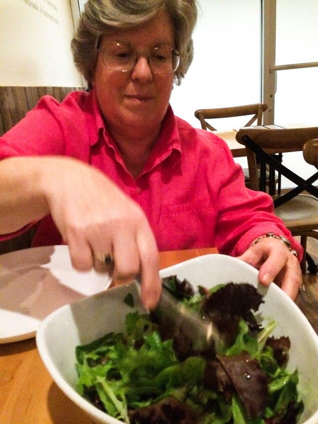 Visa O-1 salad