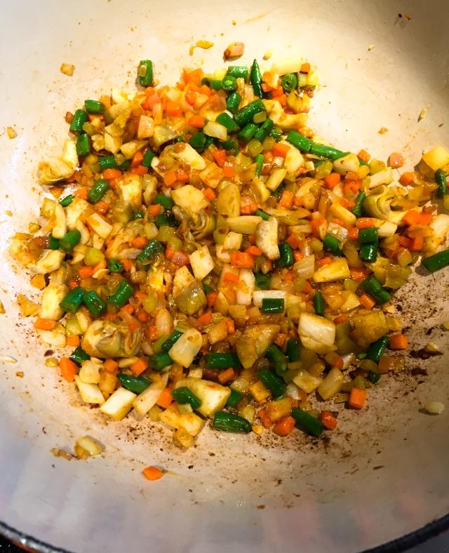 preparing soup 1