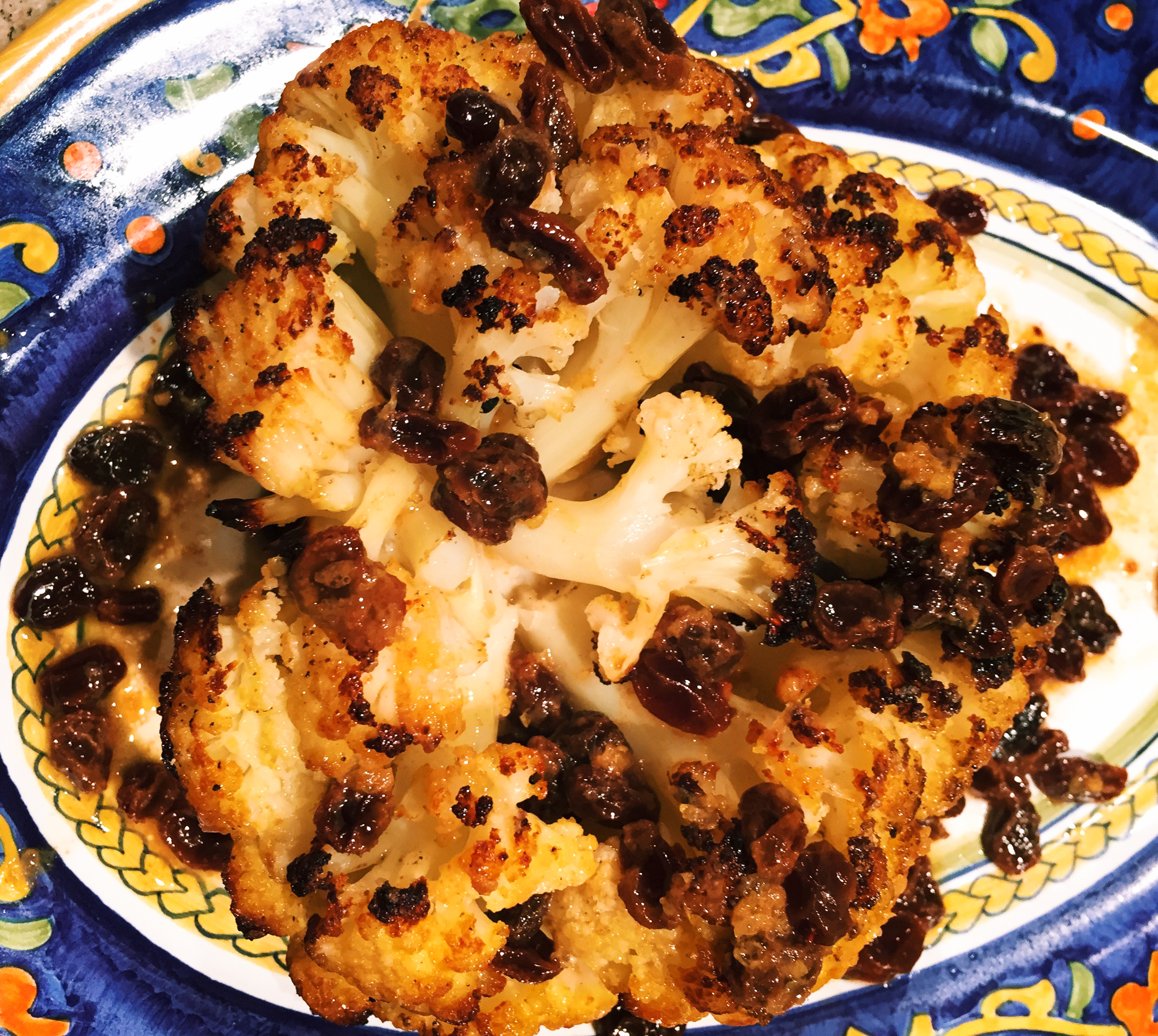 caper brown butter recipe yummly roasted cauliflower with brown butter ...