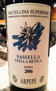 Sassella Riserva 2006