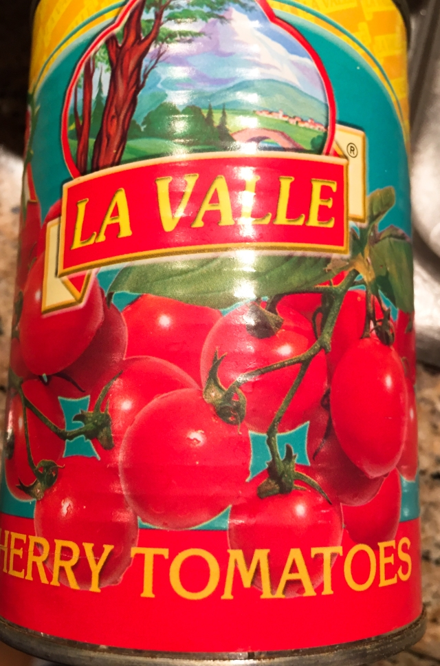 La Valle cherry tomatoes can