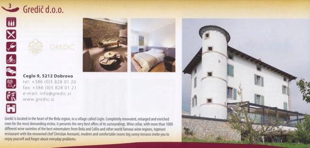 Gredic brochure