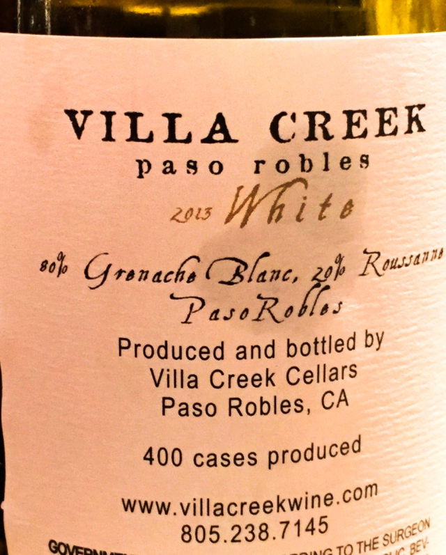 2013 White Villa Creek