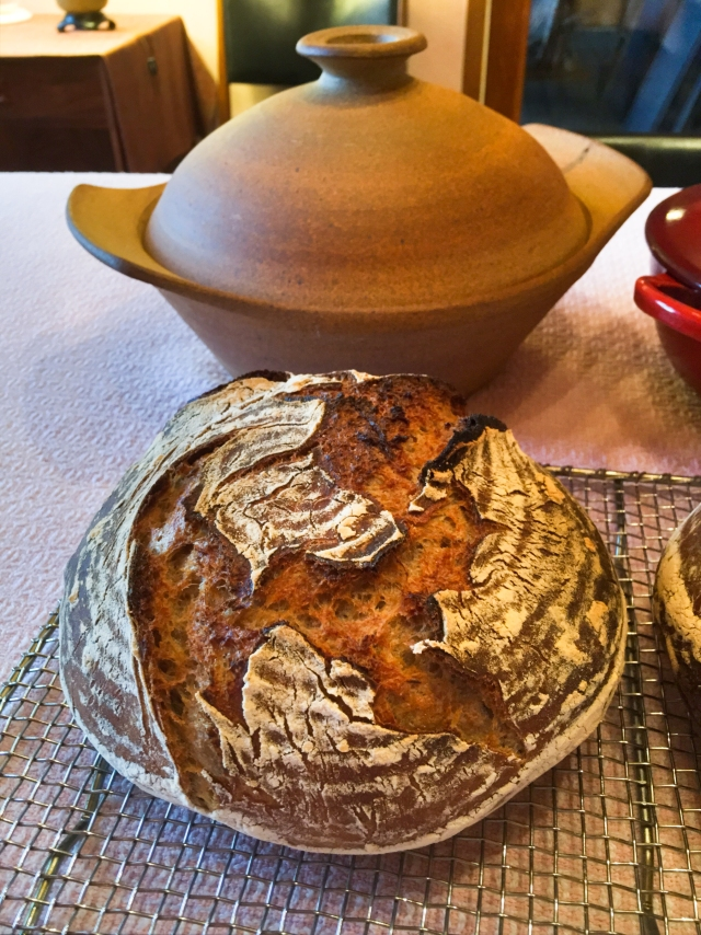 bread and larger pot