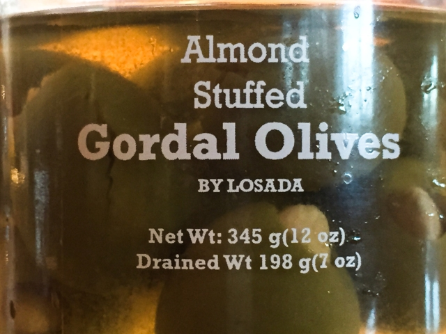 Losada olives - Gordal
