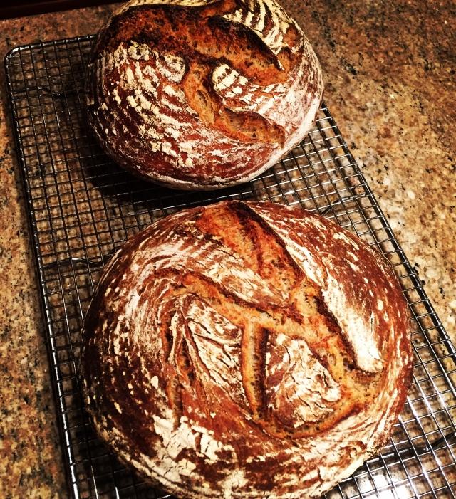 2 rye breads