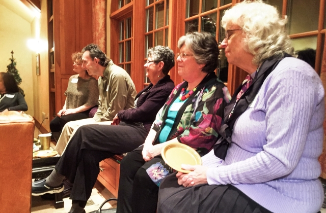 quintet plays to audience