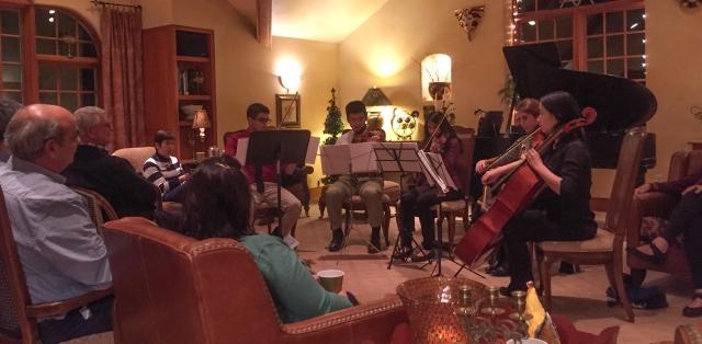 quintet plays