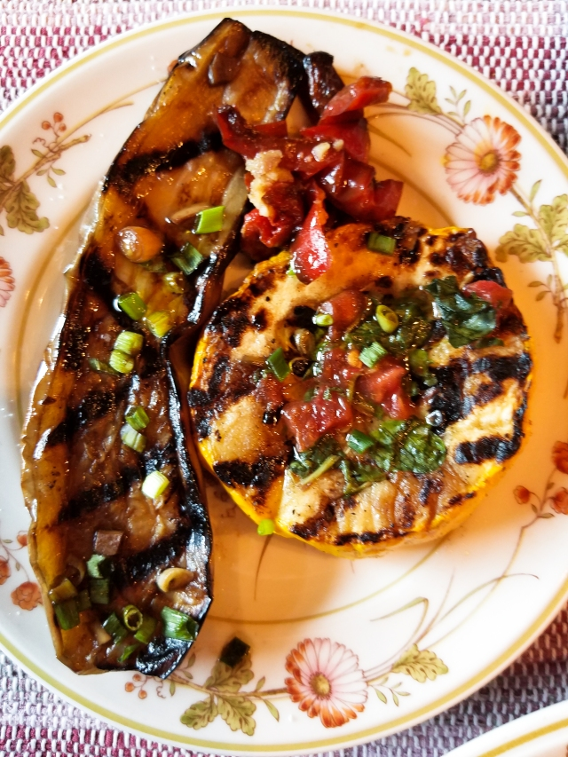 grilled-eggplant-and-patty-pan-squash