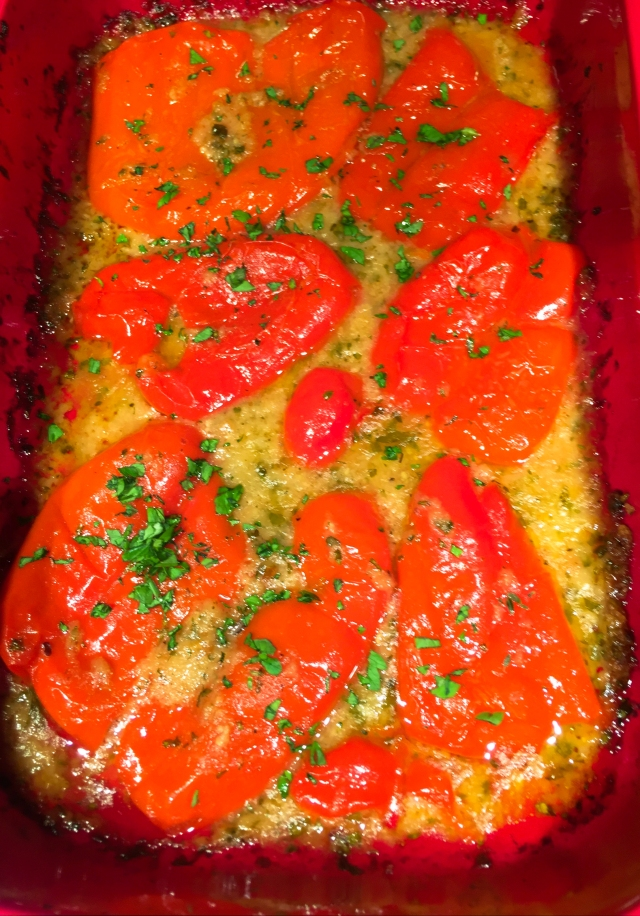 baked-red-peppers-with-bread-crumbs