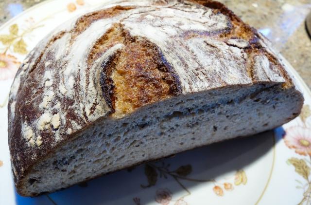 my-seeded-rye-half-loaf-top-view